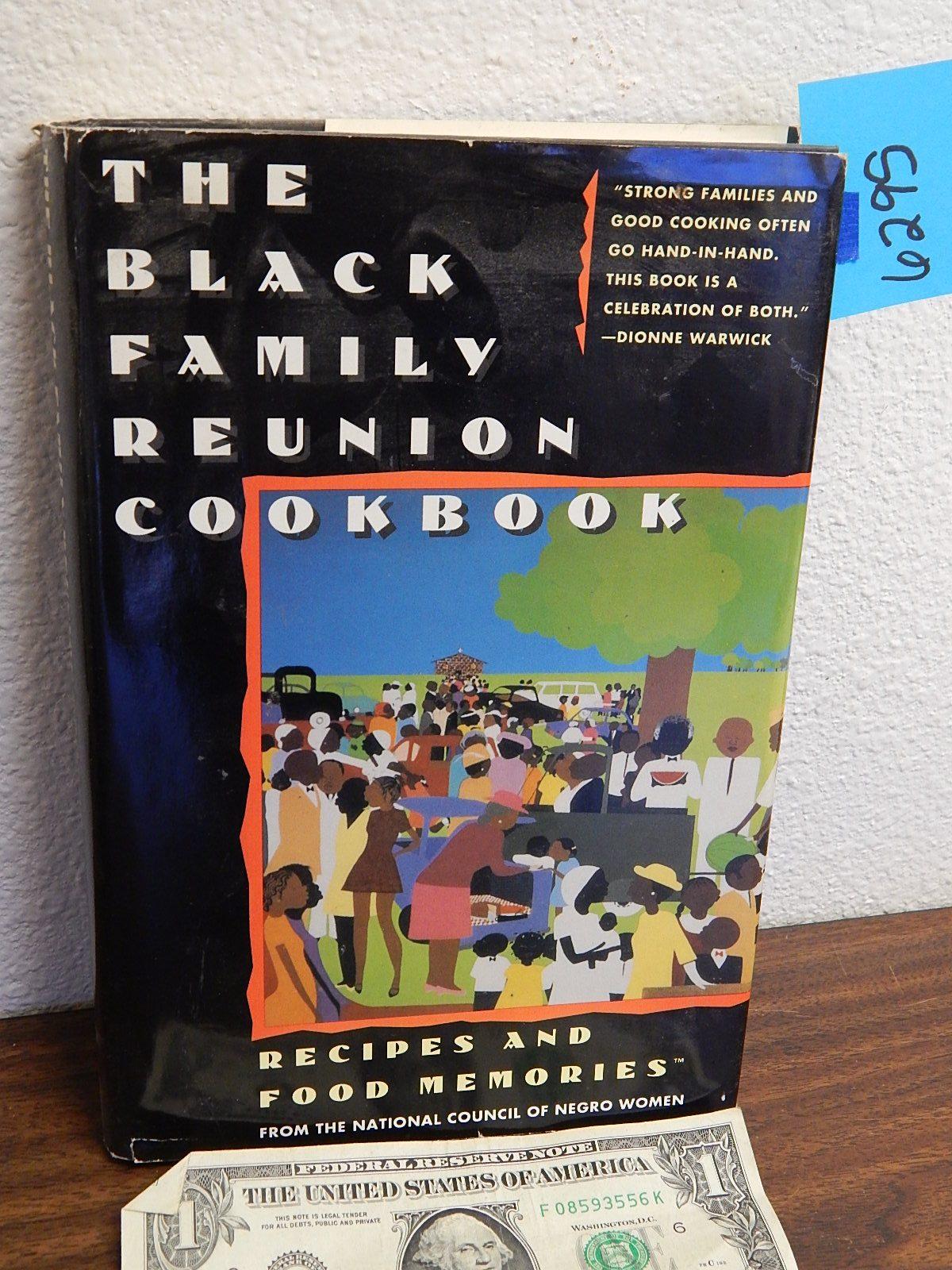 BD6295- Vintage 1986 Black Family Reunion Cook Book