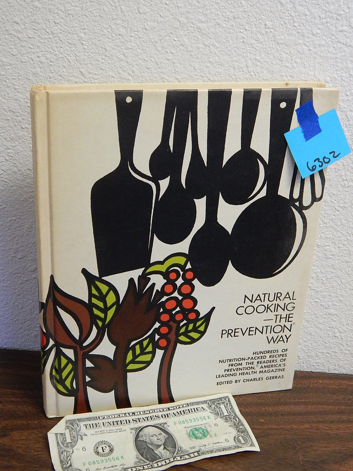 BD6302- Natural Cooking The Prevention Way Cook Book