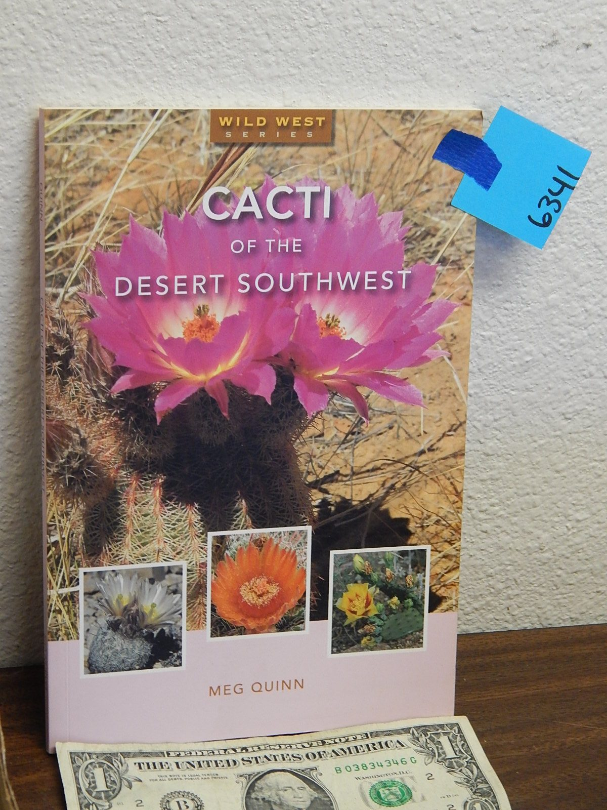 BD6341- Cacti Of The Desert Southwest Book