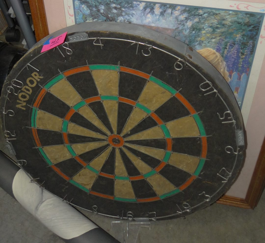 45-Hard Tip Dart Board