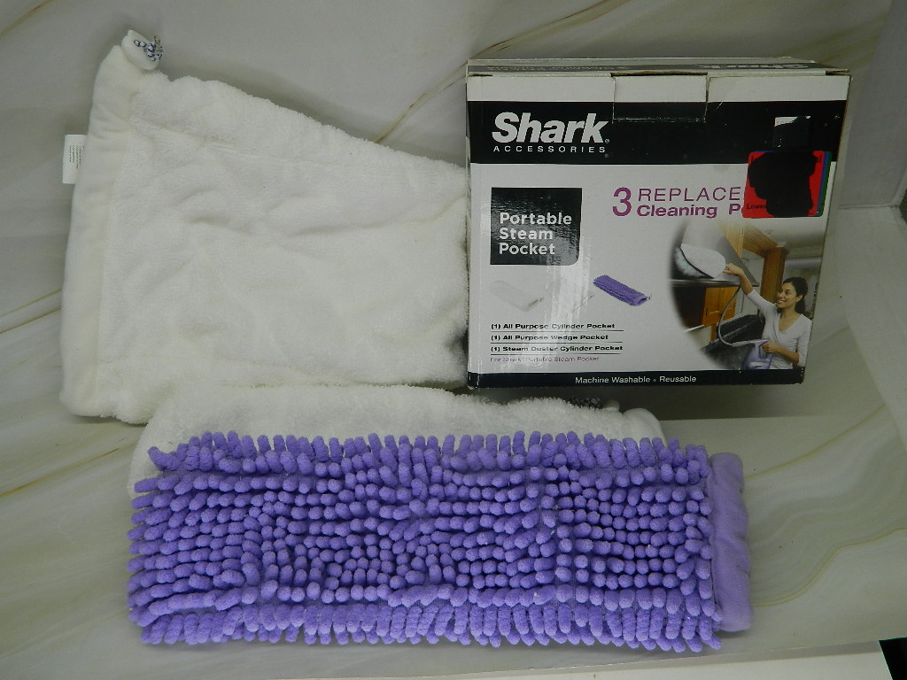SG6089- NEW SHARK 3 Replacement Cleaning Steam Pockets 'Reusable and Washable'