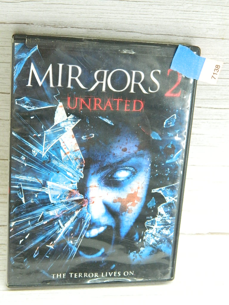 AA7138- MIRRORS #2 Unrated DVD Movie Scary Movie