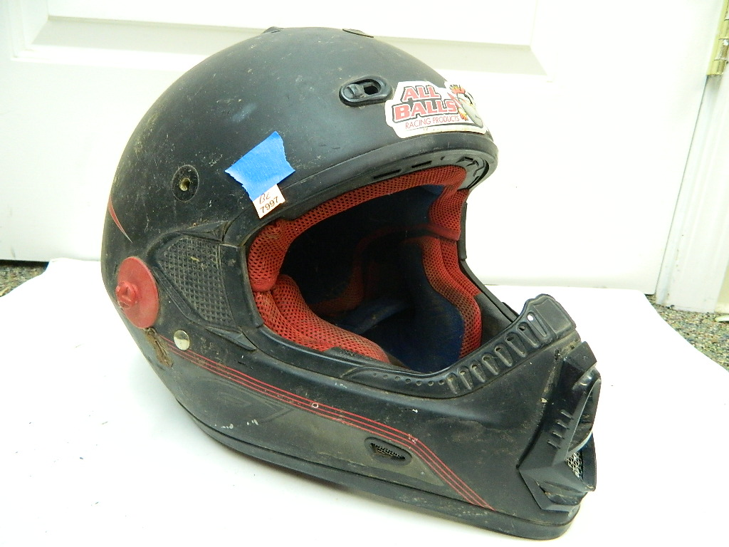 BL7997- ONEAL DOT Approved Size L 59-60cm Motocross Racing Helmet Needs Cleaned