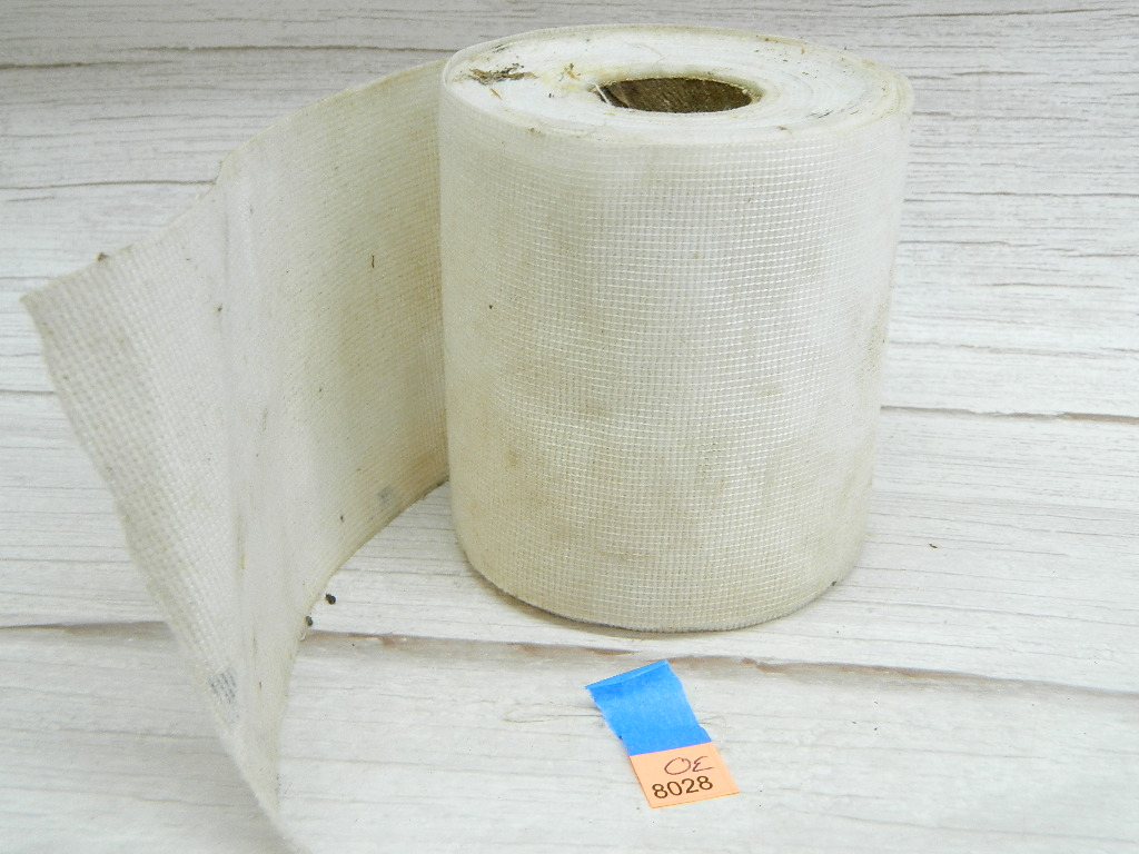 OE8028- Large Roll of White Mesh Pipe or Specialty Wrapping '4x3.5in'