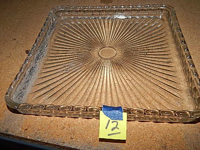 12-Glass Tray