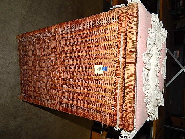 44-Wicker Laundry Basket