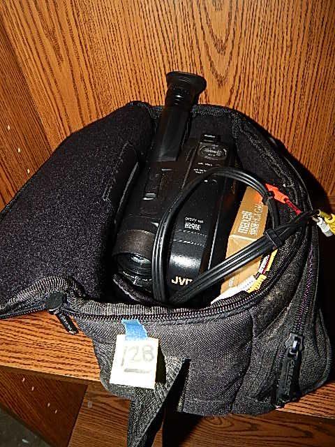 128-JVC VHS Camcorder