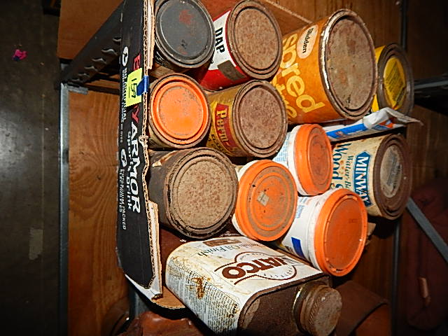 CB159-Assorted Wood Products, Filler, Patch, Finishes, etc