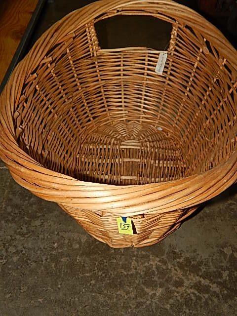 137-Wicker Basket